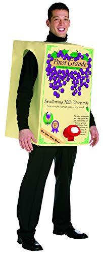 Rasta Imposta Pinot Grande Wine Box, Adult Humor Costume