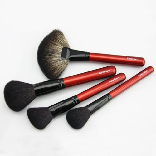 fakeface luxury 21 pcs professioanl natural animal mink hair makeup brush set cosmetic artist. Black Bedroom Furniture Sets. Home Design Ideas