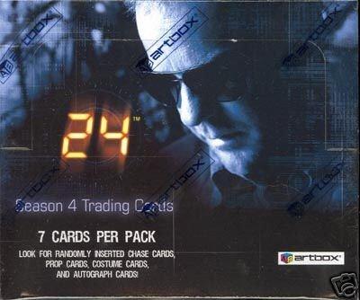 Trading Season Cards 4 Box - 24 Season 4 Trading Cards Box, 36 Packs Per Box
