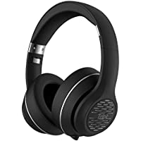 Bluetooth Headphones Over Ear, Tribit XFree Tune Hi-Fi Stereo Wireless Headset with Rich Bass, 24 Hours Playtime, 2X40mm Drivers, Bluetooth 4.1 CSR Chips, 3.5mm Aux Support, Black