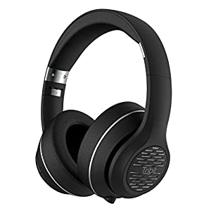Tribit XFree Tune Bluetooth Headphones Over Ear – Wireless Headphones 40 Hrs Playtime, Hi-Fi Stereo Sound with Rich Bass, Built-in Mic, Soft Earmuffs – Foldable Headset with Carry Case, Black