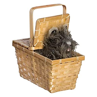 Wizard of oz Dorothy's Toto In A Basket: Toys & Games