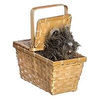 Mago de Oz Toto de Dorothy en una canasta