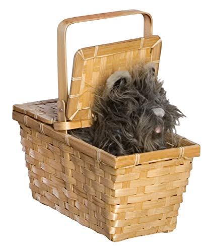 Wizard of Oz Dorothy's Toto in a Basket -