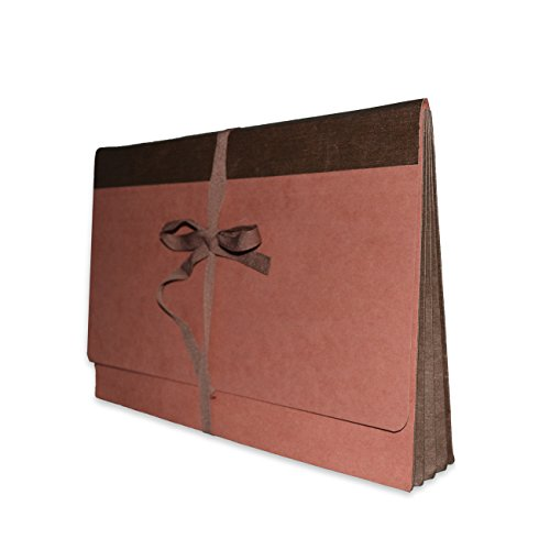 Fibre-Guard Expanding Wallet, File Envelope, Portfolio, Legal Size with 3 1/2