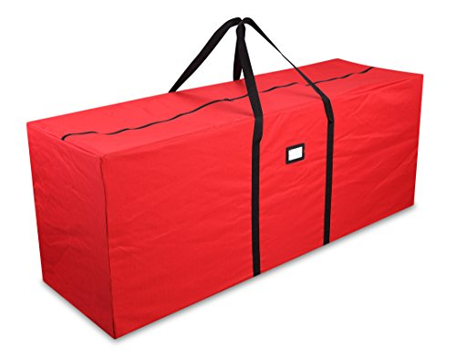 Primode Holiday Tree Storage Bag, Heavy Duty Storage Container, 20'' Height X 15'' Wide X 50'' Long (Red) by Primode