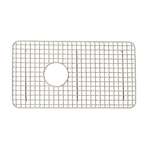 - Rohl WSG3018BS Wire Sink Grids, 14-5/8-Inch by 26-1/2-Inch, Biscuit
