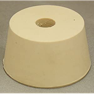 #9-1/2 Drilled Rubber Stopper