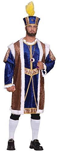 Forum Novelties Men's Plus-Size Extra Big Fun Henry The Viii Costume, Multi, 3X-Large