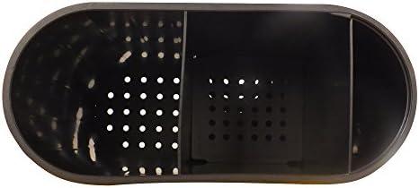 22 x 10 x 18 cm kela 11659 Besteckabtropfer para Utensilios para Mujer de Metal Blanco