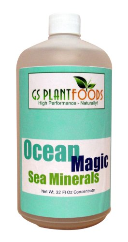 Ocean Magic Sea Minerals, 32 fl. oz. (Plant Minerals)