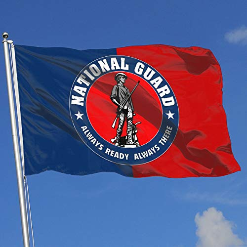 QphonesFlag United States National Guard Flag 3x5-Flags 90x150CM-Banner 3'x5' FT