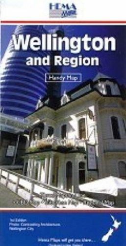 Wellington and Region: Handy Map - Standard