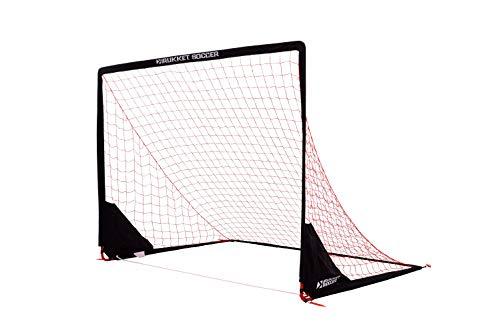 Rukket Portable Soccer Goal | Kids Youth Practice Foldable/Pop Up Soccer Net (8x6ft)