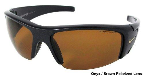 Nike Diverge Polarized Sunglasses EV0327 027 Black/ Amber - Nike Sunglasses Prescription