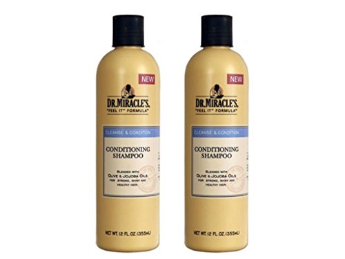Dr. Miracle's Conditioning Shampoo, 12 Ounce (Set of 2)