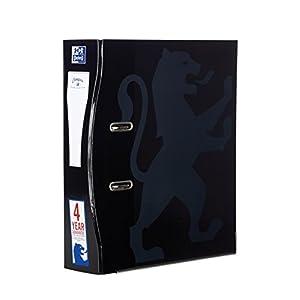 Archivadores Oxford A4, 70 mm, color negro paquete de 1 unidad