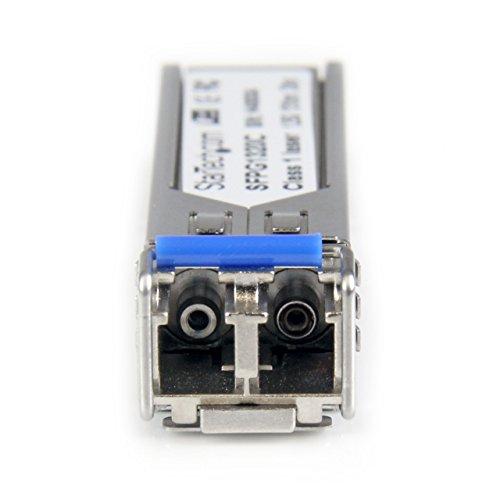 StarTech Cisco Compatible Gigabit Fiber Single Mode 1.25 G SFP Transceiver Module with DDM – 12.4mi / 20 km (Mini-GBIC) by StarTech (Image #2)