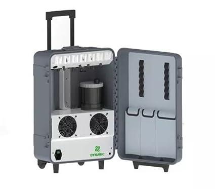 Hot Dental portátil unidad du852 con escalador + curado luz + compresor + L/H.S.H