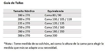 Fibra 120 gr, Arena//Choco, Cama 90, 180 x 270 Lucena Cantos Colcha Todo Uso Bicolor
