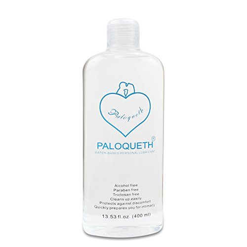 Water Based Lubricant, PALOQUETH Sex Lube for Vagina Anus and Sex Toys 13.5 fl.oz (400ml)