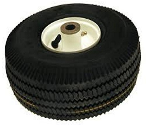 Replacement part For Toro Lawn mower # 105-3471 FRONT WHEEL AND TIRE ASM (Lawn Mower With Caster Wheels)