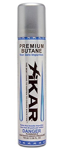 Xikar Premium Butane Fuel Refill for Lighters - 2 Cans