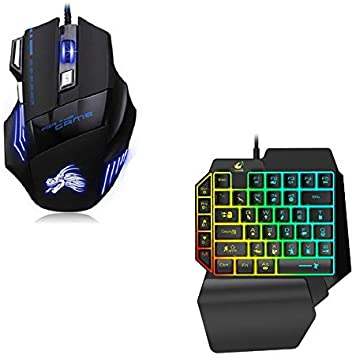 Shot Case Pack Gamer para PC Razer (Mini Teclado Gamer + Ratón Gamer con Cable) QWERTY USB LED Gaming: Amazon.es: Electrónica