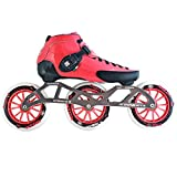 Atom Luigino Strut 125 Inline Skate Package (Size 13, Pink)