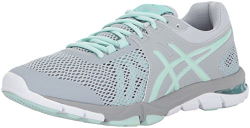 Cross Tr trainer Women's Asics Sea Grey Shoe Gel craze silver 4 Mid glacier tAqXwY