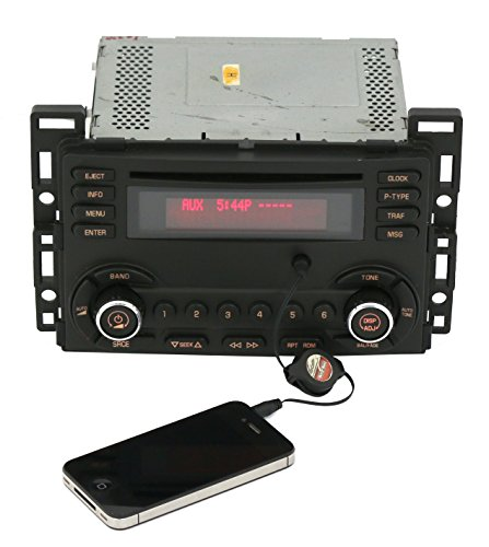 (2008-09 Pontiac G6 AM FM Radio Single CD Player w Aux Input Part Number 15848799)