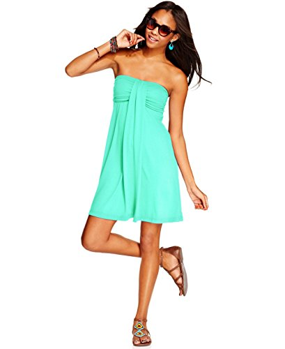 Bandeau Cover Up (Hula Honey Strapless Bandeau Cover-Up Women's Swimsuit Seafoam)