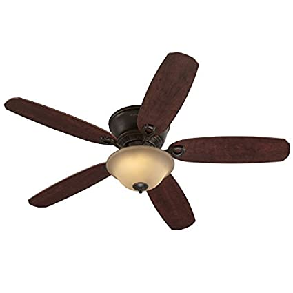 Amazon harbor breeze pawtucket 52 in oil rubbed bronze flush harbor breeze pawtucket 52 in oil rubbed bronze flush mount indoor ceiling fan with light aloadofball Choice Image