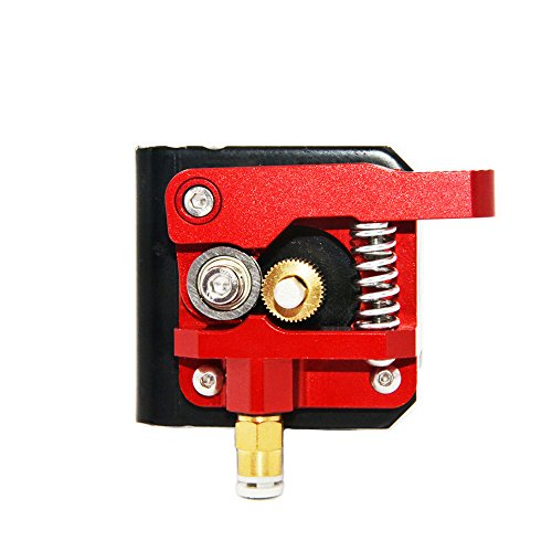Redrex Upgraded Aluminum Bowden Extruder with 40 Teeth MK8 Drive Gear for Creality CR-10 Series and other Reprap Prusa 3D Printers