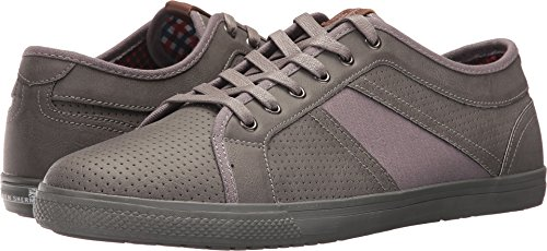 Ben Sherman Men's Madison Perf Sneaker, Grey, 14 M US (Ben Sherman Casual Shoes)