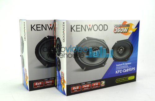 2 pair Kenwood KFC-C6895PS 6