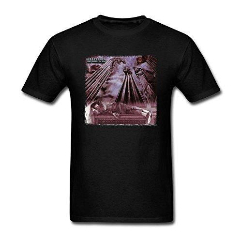 YLINTS Men's Steely Dan The Royal Scam T-shirt Size L Black