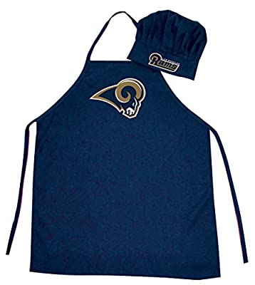 Los Angeles Rams NFL Apron and Chef Hat