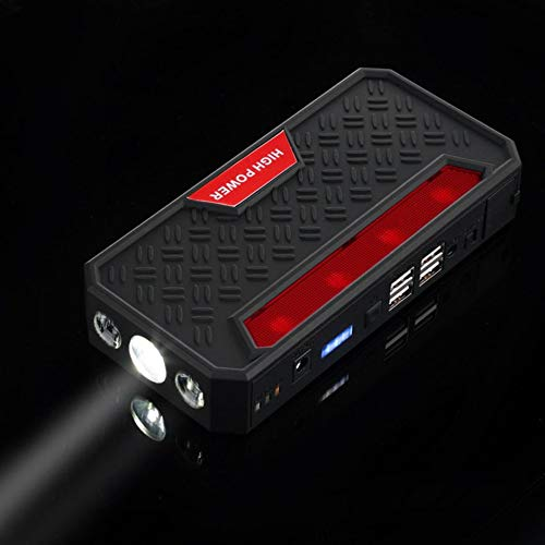 4USB Multi-Function Car Jump Starter 12V Rechargeable Battery 68800mAh Power Bank Starter with Inflator Pump Car Accessories