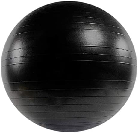 Power Systems VersaBall Pro Stability Ball, 65cm, Jet Black 80115