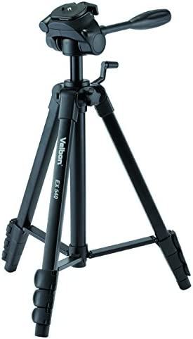 Velbon M45 62 inch Tripod with 3-way Panhead with Quick Release Plate
