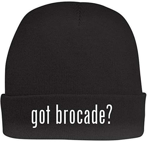 Shirt Me Up got Brocade? - A Nice Beanie Cap, Black, OSFA
