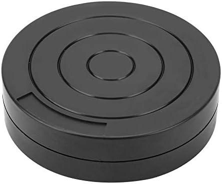 TOPINCN プラスチック 粘土ターンテーブル セラミック 粘土彫刻ツール 12cm 粘土モデル彫刻ターンテーブル
