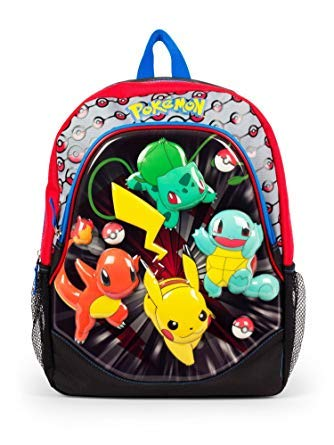 Pokemon Pouncin 16 EVA Molded Backpack -