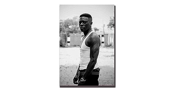 N-130 Boosie Badazz Poster Rap Hip Hop Music Star Wall Decor