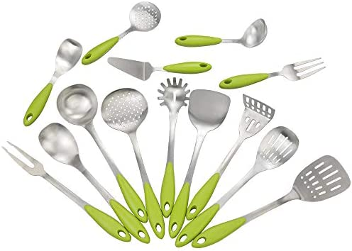 Morcte 14 Piece Kitchen Stainless Utensils product image