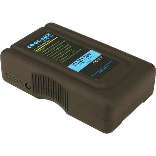 V-Mount 130 Wh Battery for CL500 / 1000 / 2000 LED Lights by COOL-LUX