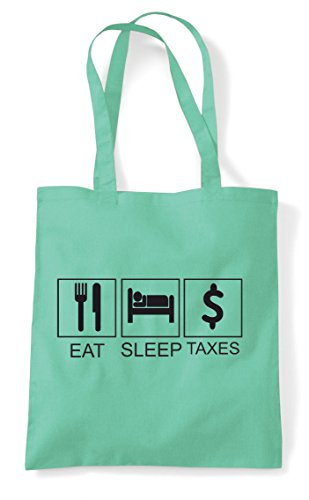 Activity Bag Tote Tiles Mint Hobby Sleep Shopper Taxes Funny Eat SAfqXP