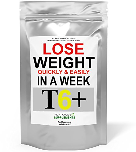 T6+ Very Strong Slimming Weight Loss Tablets Extreme Legal Fat Burner Diet...