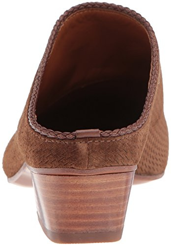 Aquatalia Women's Fife Perforated Suede Mule Chestnut Zas08xanrS